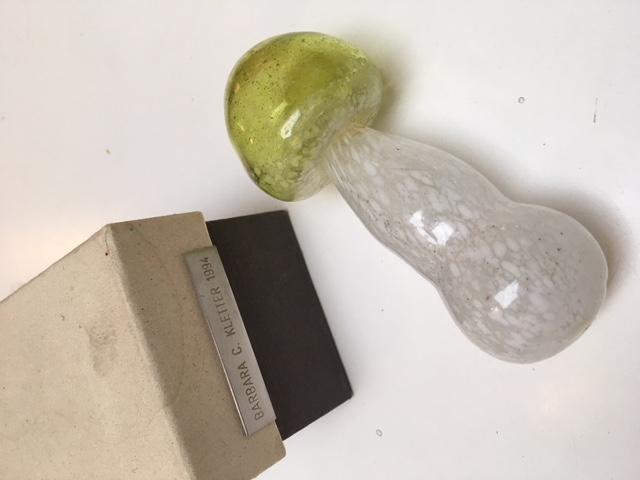 Mushroom-glass-object