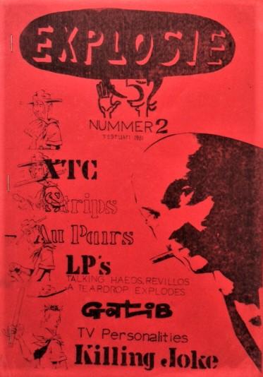 Explosie-Issue-2-XTC-Strips-Au-Pairs-LP-s-Gotlib-Killing-Joke-1981