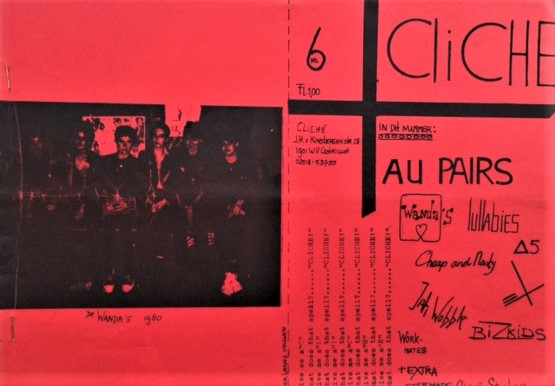 Cliche-Issue-6-Au-Pairs-Wanda-s-Lullabies-Cheap-and-Nasty-Bizkids-1980