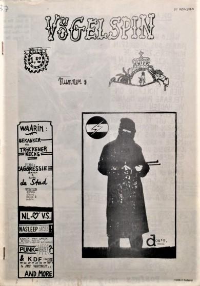 Vogelspin-Issue-5-Gekanker-en-Trockener-Kecks-Agressie-binnen-en-buiten-de-stad-etc-1981