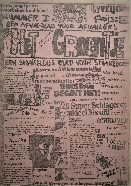 Het-Groentje-Issue-1-Een-afval-blad-voor-afvallers