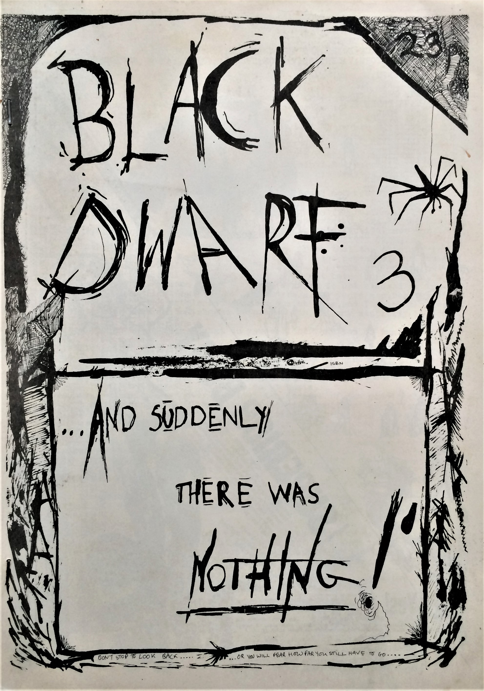Black-Dwarf-Issue-3-And-Suddenly-There-Was-Nothing