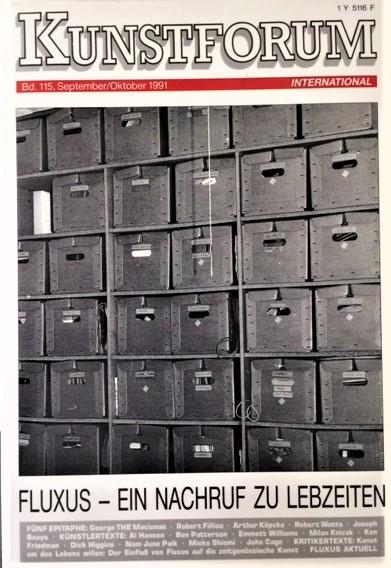 Kunstforum-Bd-115-September-Oktober-1991-Fluxus-Ein-nachruf-zu-lebzeiten
