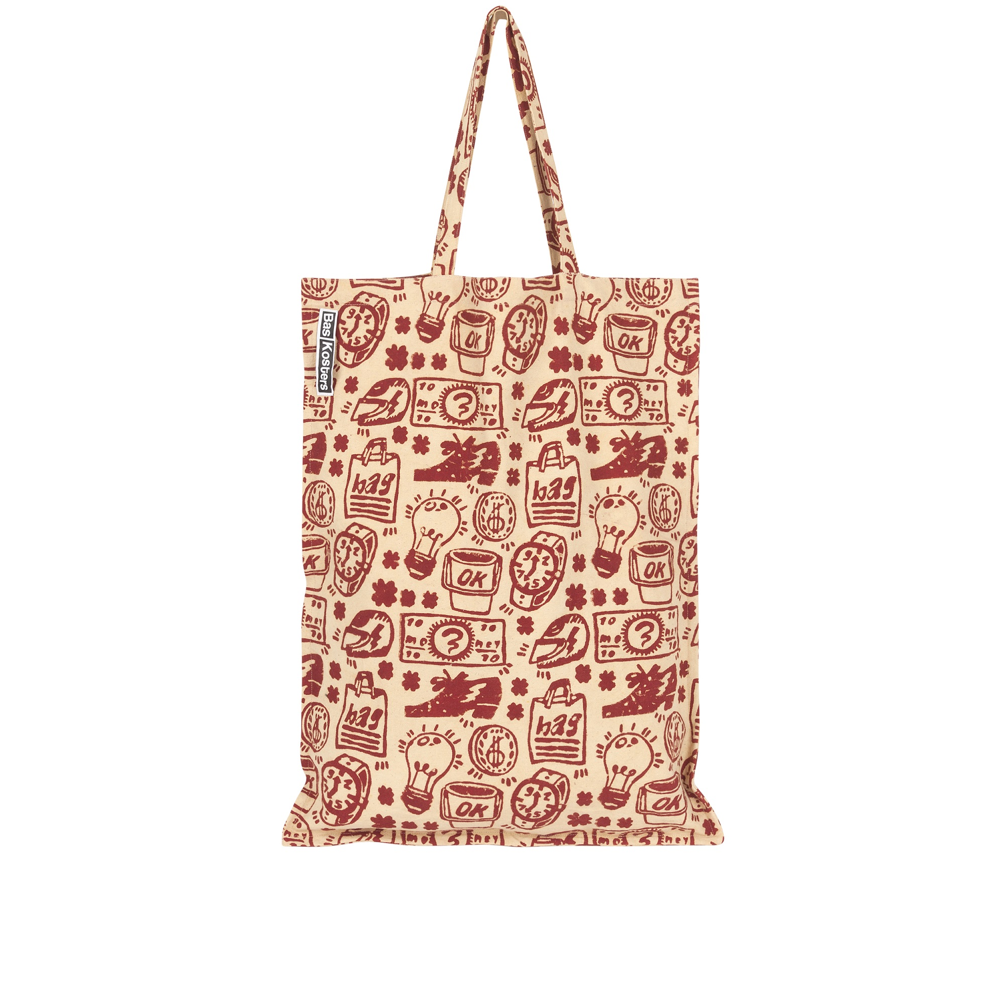 BIG-TOTE-BAG-INDIA-STREET-LIFE-PRINT-RED