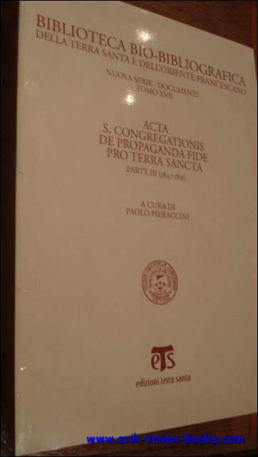 Acta S. Congregationis de p...