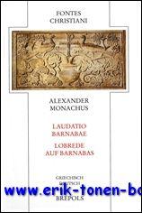Alexander Monachus Laudatio...