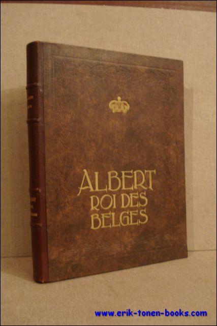 Albert, Roi des Belges.