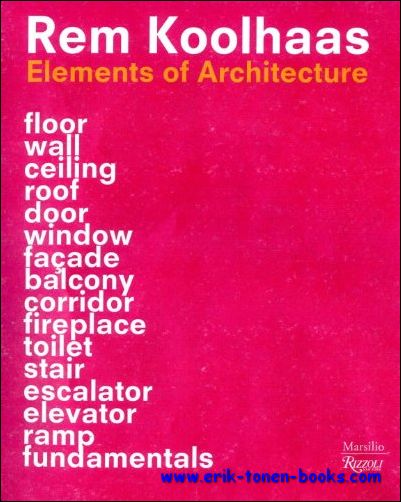 Elements of Architecture, R...