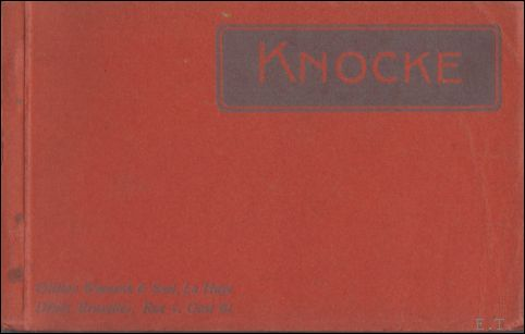 KNOCKE   Album / postcard b...
