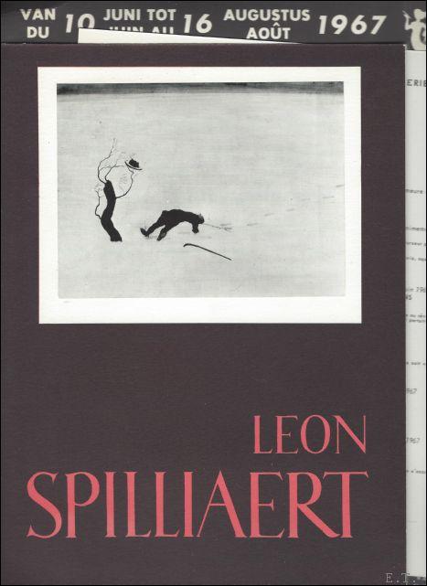 Leon Spilliaert  brochure  ...