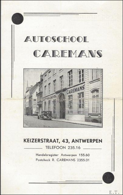flyer  autoschool Caremans,...