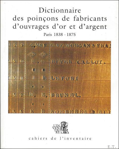 Dictionnaire des Poincons  ...