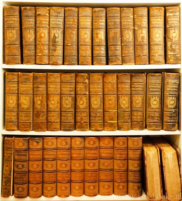 ENCYCLOPAEDIA BRITANNICA, THE - The Encyclopaedia Britannica. A dictionary of arts, sciences, and general literature. 24 volumes + 1 index  volume. With list of contributors and key to their initials + The new volumes of the Encyclopaedia Britannica constituting in combination with the existing volumes of the ninth edition the tenth edition of that work, and also supplying a new distinctive, and independent library of reference dealing with recent events and developments.10 volumes.  35 volumes.