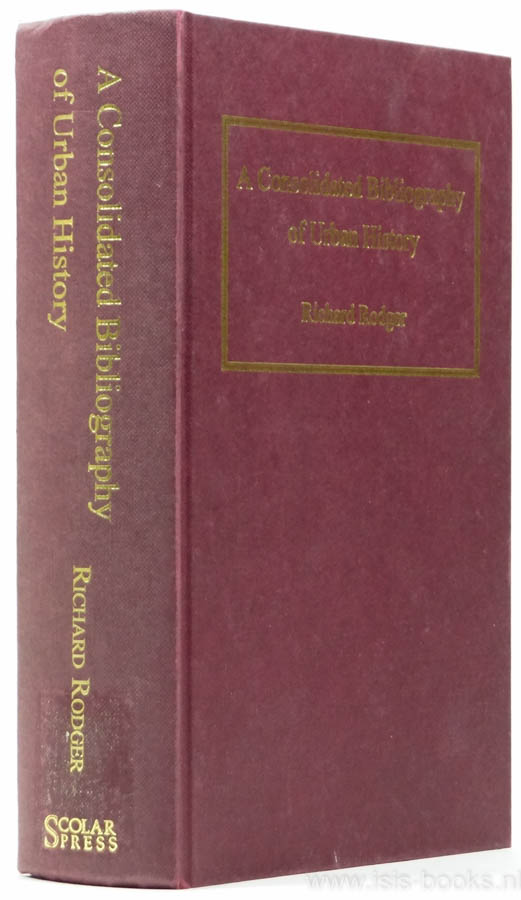 A consolidated bibliography...