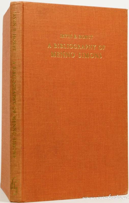 A bibliography of Menno Sim...