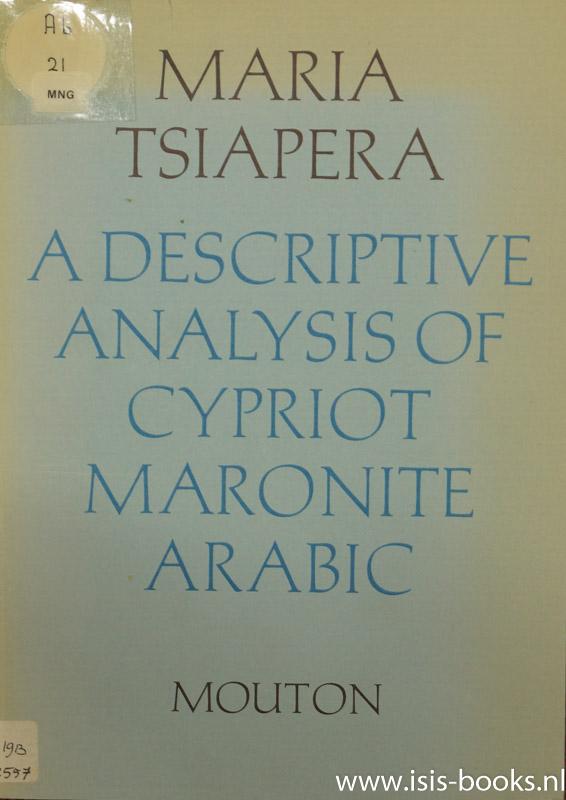 A descriptive analysis of C...
