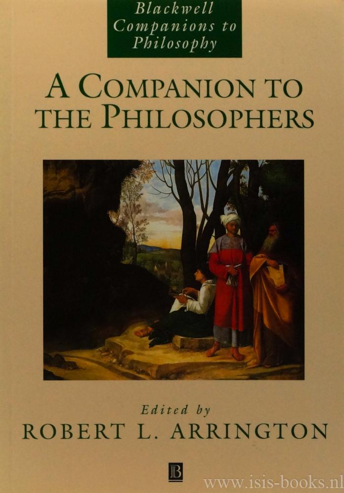 A companion to the philosop...