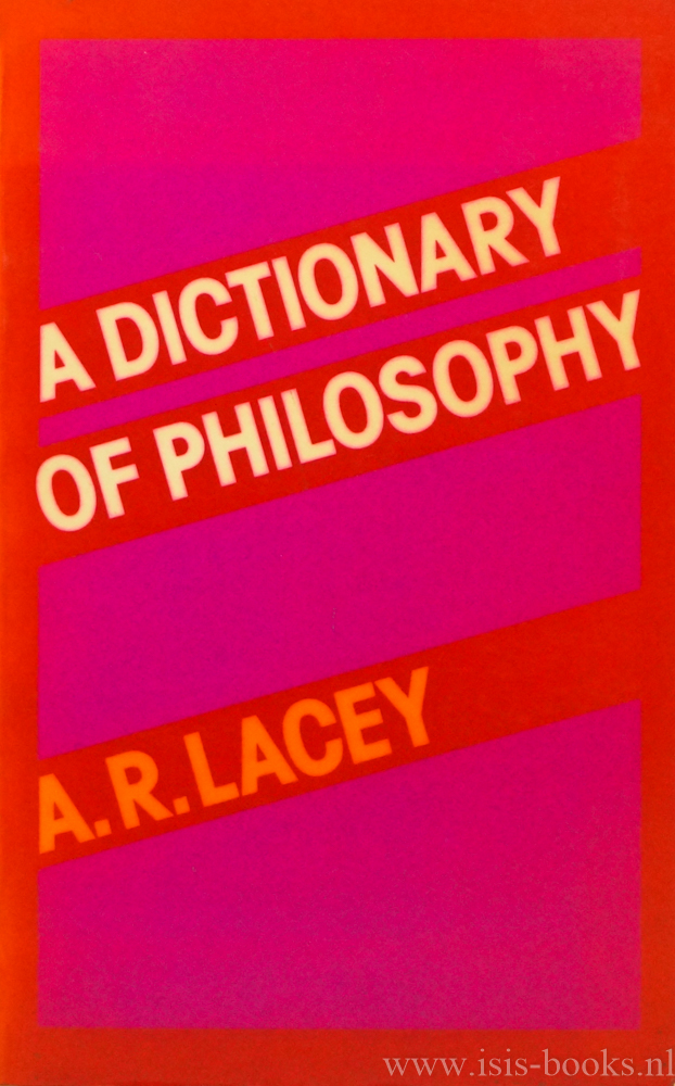A dictionary of philosophy.