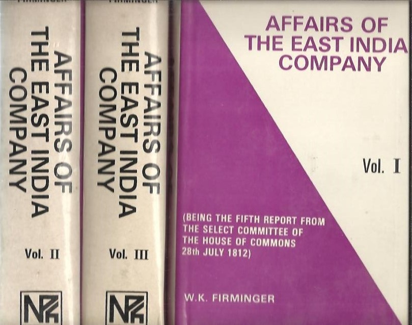 Affairs of the East India C...