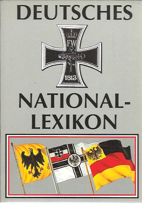 POZORNY, REINHARD [HG.] - Deutsches National-Lexikon. [5. Auflage].