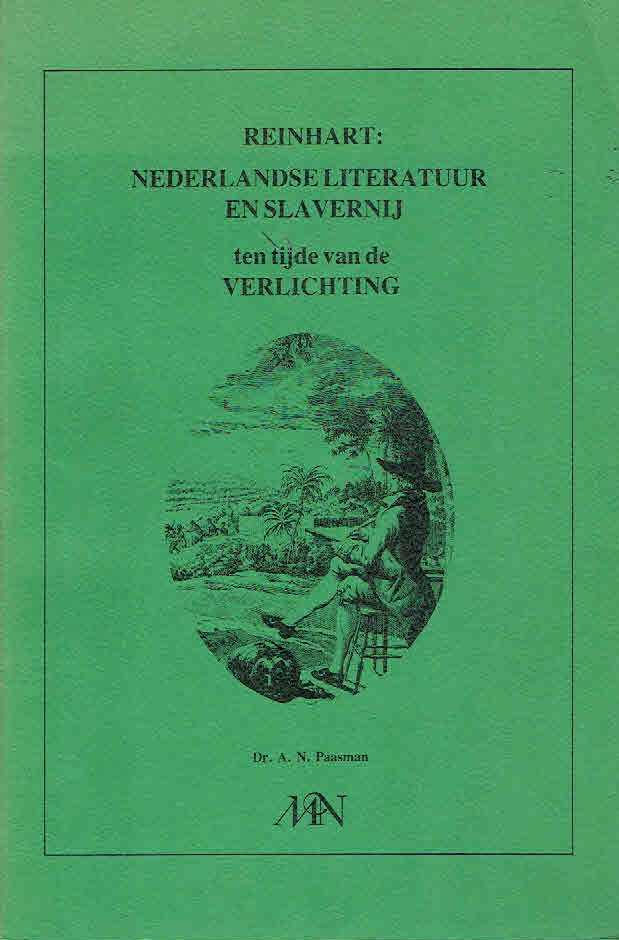 paasman an reinhart nederlandse literatuur en slavernij ten tijde van de verlichting