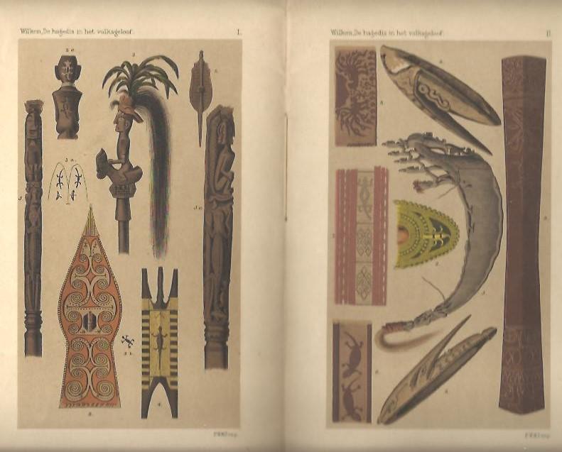 WILKEN, G.A. - De Hagedis in het Volksgeloof der Malayo-Polynesiërs.