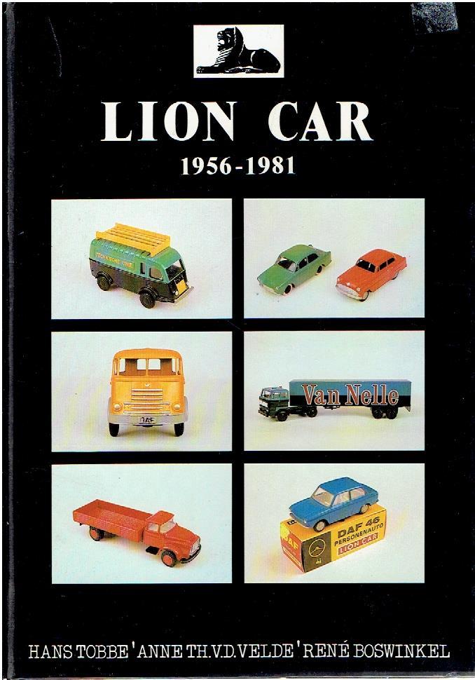 TOBBE, HANS - Lion Car 1956-1981.