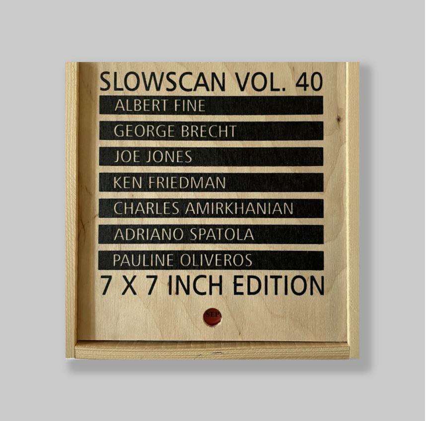 Slowscan-Vol-40-Albert-Fine-George-Brecht-Joe-Jones-Ken-Friedman-Charles-Amirkhanian-Adriano-Spatola