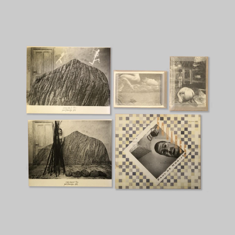 NOOIJER, PAUL DE (EINDHOVEN NL, 1943) - - Squares: Magie in de Vleeshal. De fotografie van Paul de Nooijer. RARE COMPLETE VERY FINE COPY + 2 PHOTOS + EXTRA.