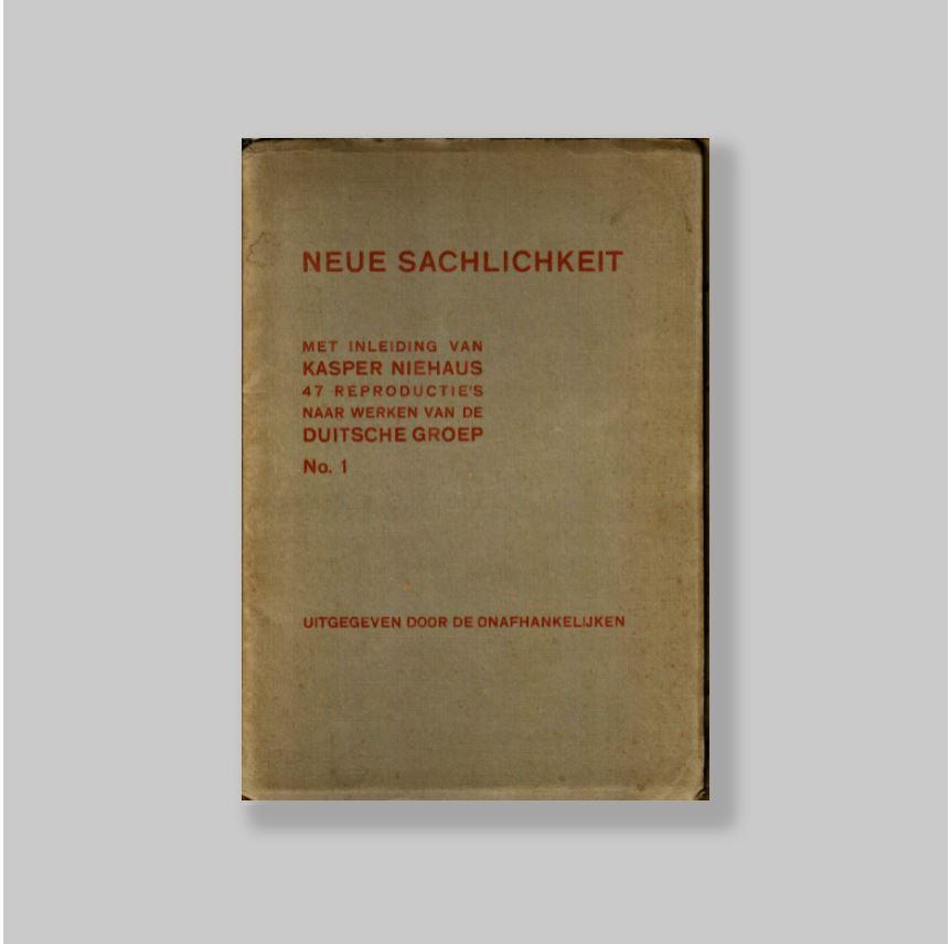 Neue-Sachlichkeit-47-Reproducties-naar-Werken-van-de-Duitsche-Groep-No-1-VERY-FINE-COPY
