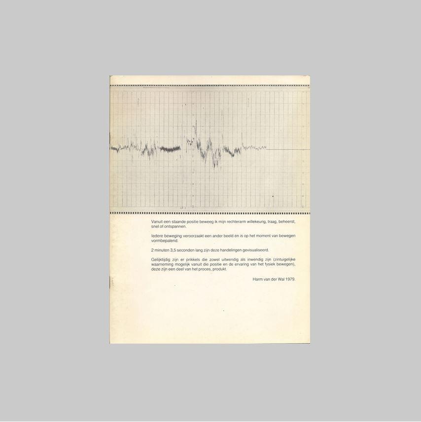WAL, HARM VAN DER (SMALLINGERLAND, 1950) - GEERLINGS, BRAM. - harm van der wal. VERY FINE COPY.