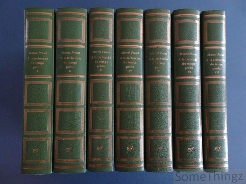 Proust, Marcel. - A la recherche du temps perdu. (7 vols.)