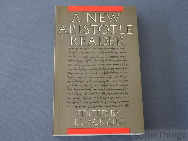 A new Aristotle reader.